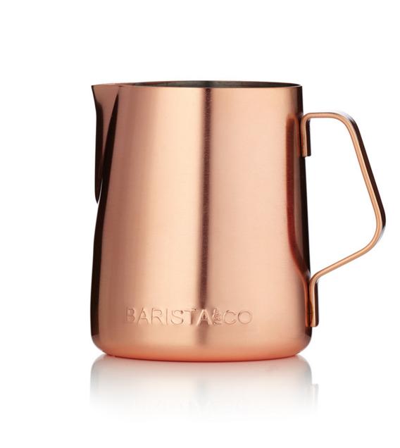 Barista & Co Milk jug - Electric Copper