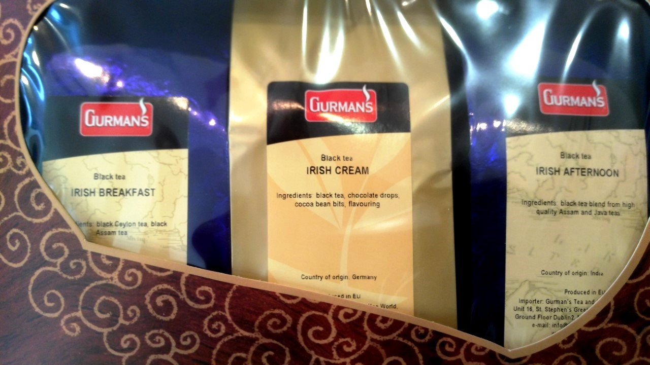 Irish Cream Black Tea Selection Set 3x100g