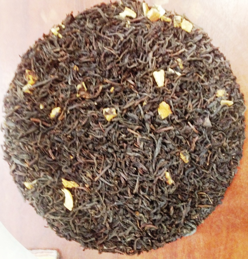 Flavored black tea 'Lady grey'