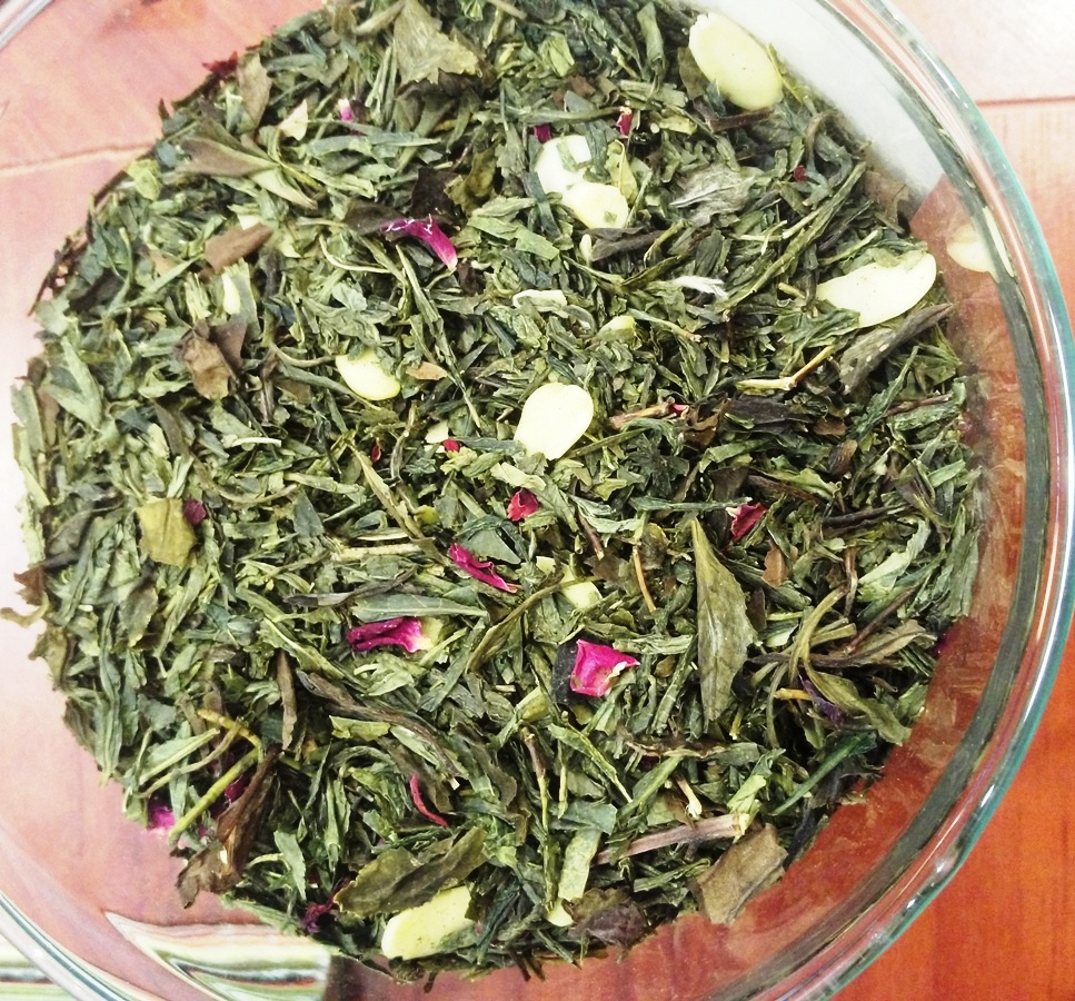 Flavored Green and White tea ' Marzipan Constellation'