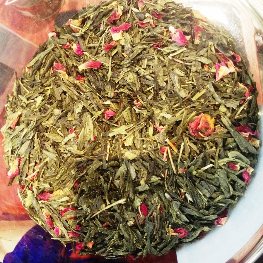Flavored Green Tea 'Sea Roses'