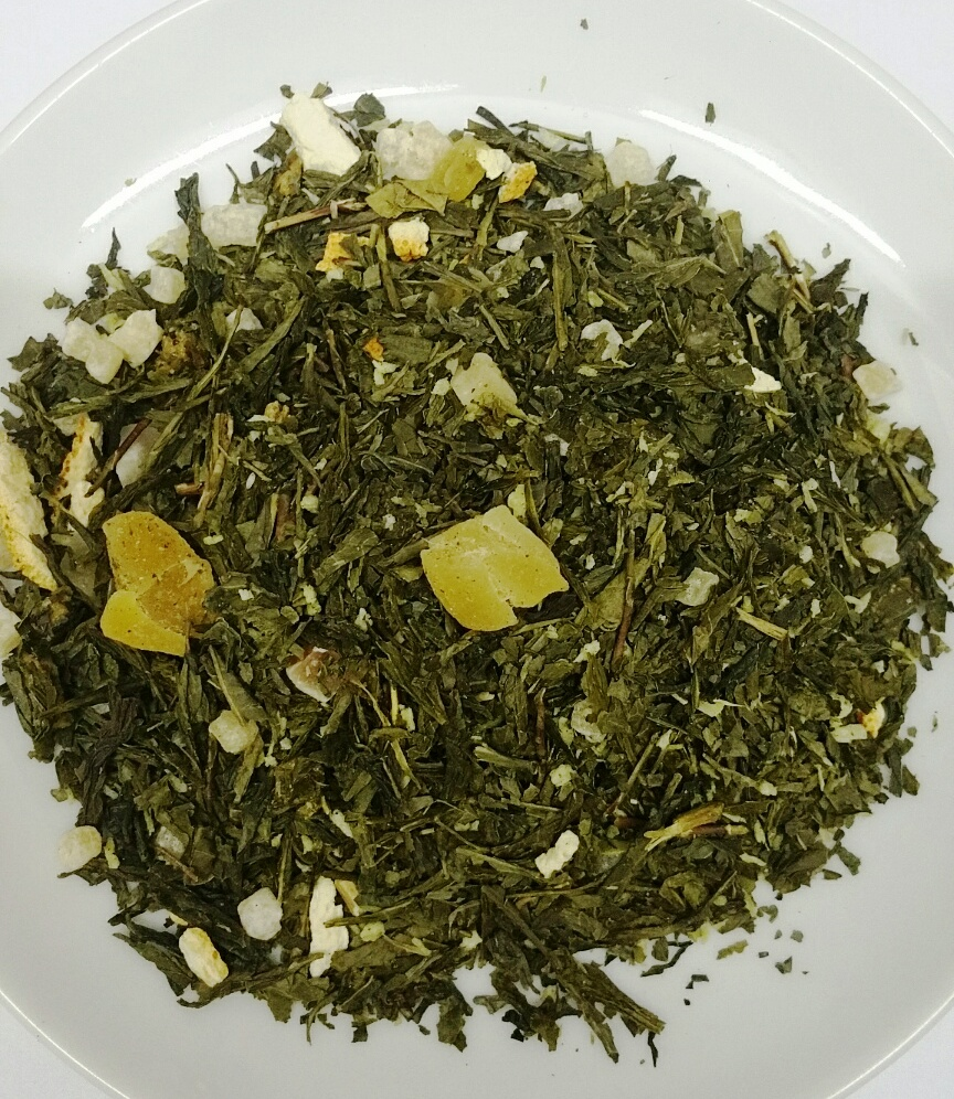 ​Flavored green tea with stevia