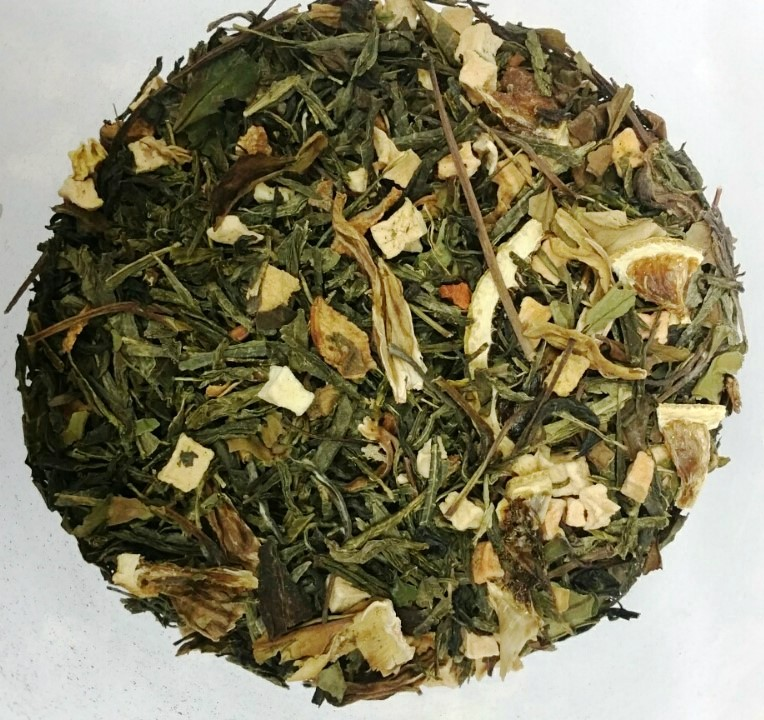 Flavored Green and White Tea ' Golden Quince '