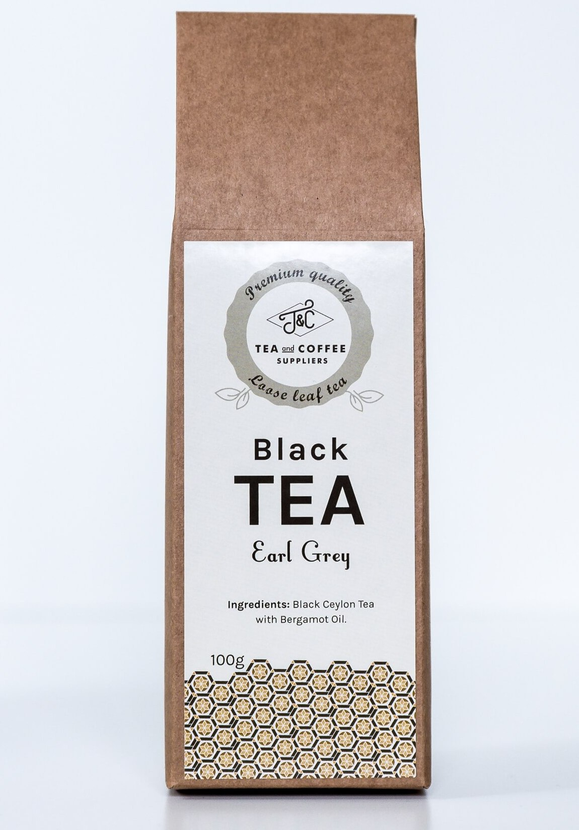 T&C Flavoured Black Tea 'Earl Grey'