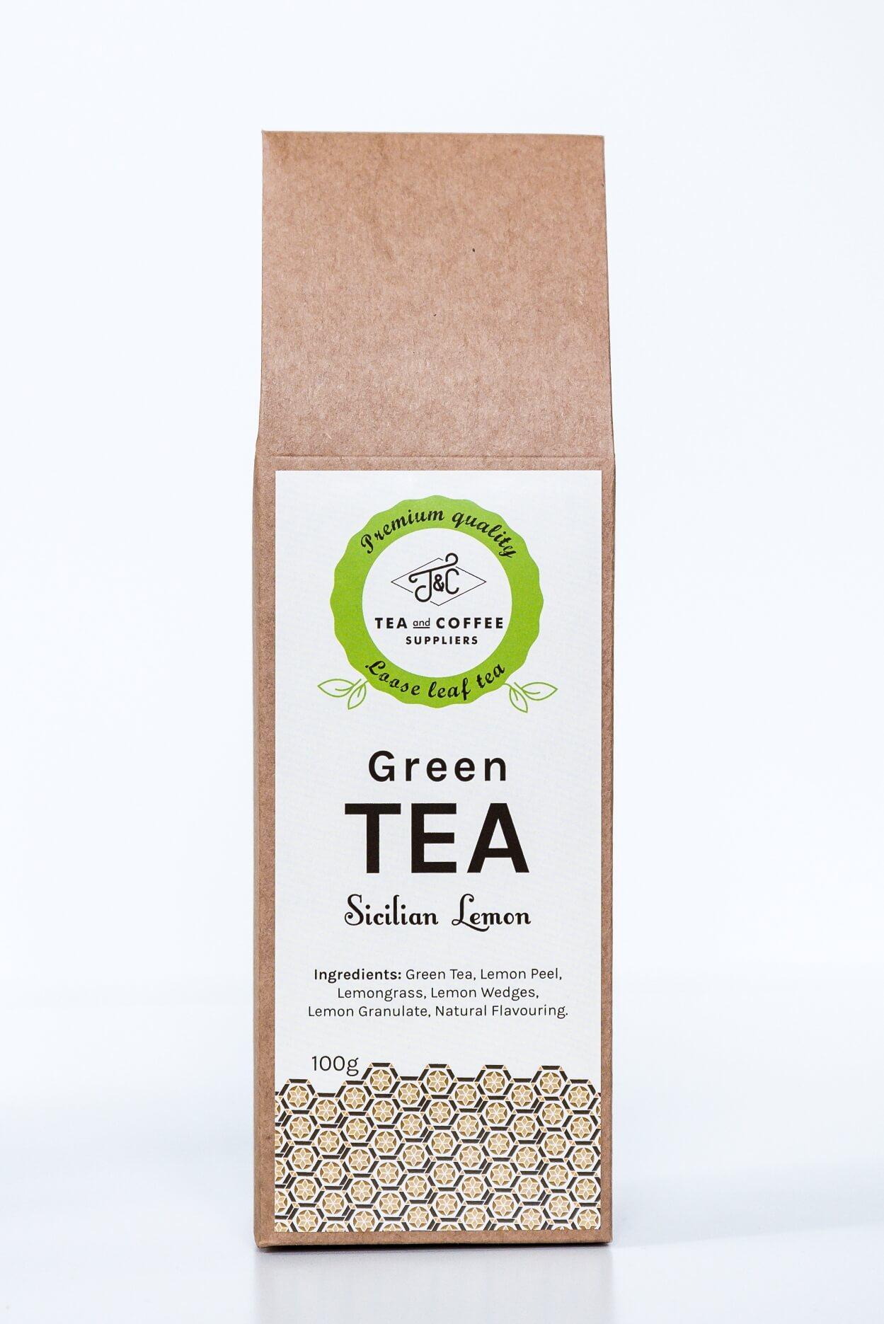 T&C Green Tea Sicilian Lemon