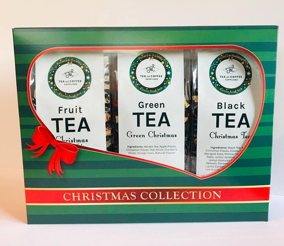 T&C CHRISTMAS TEA COLLECTION 3x100g