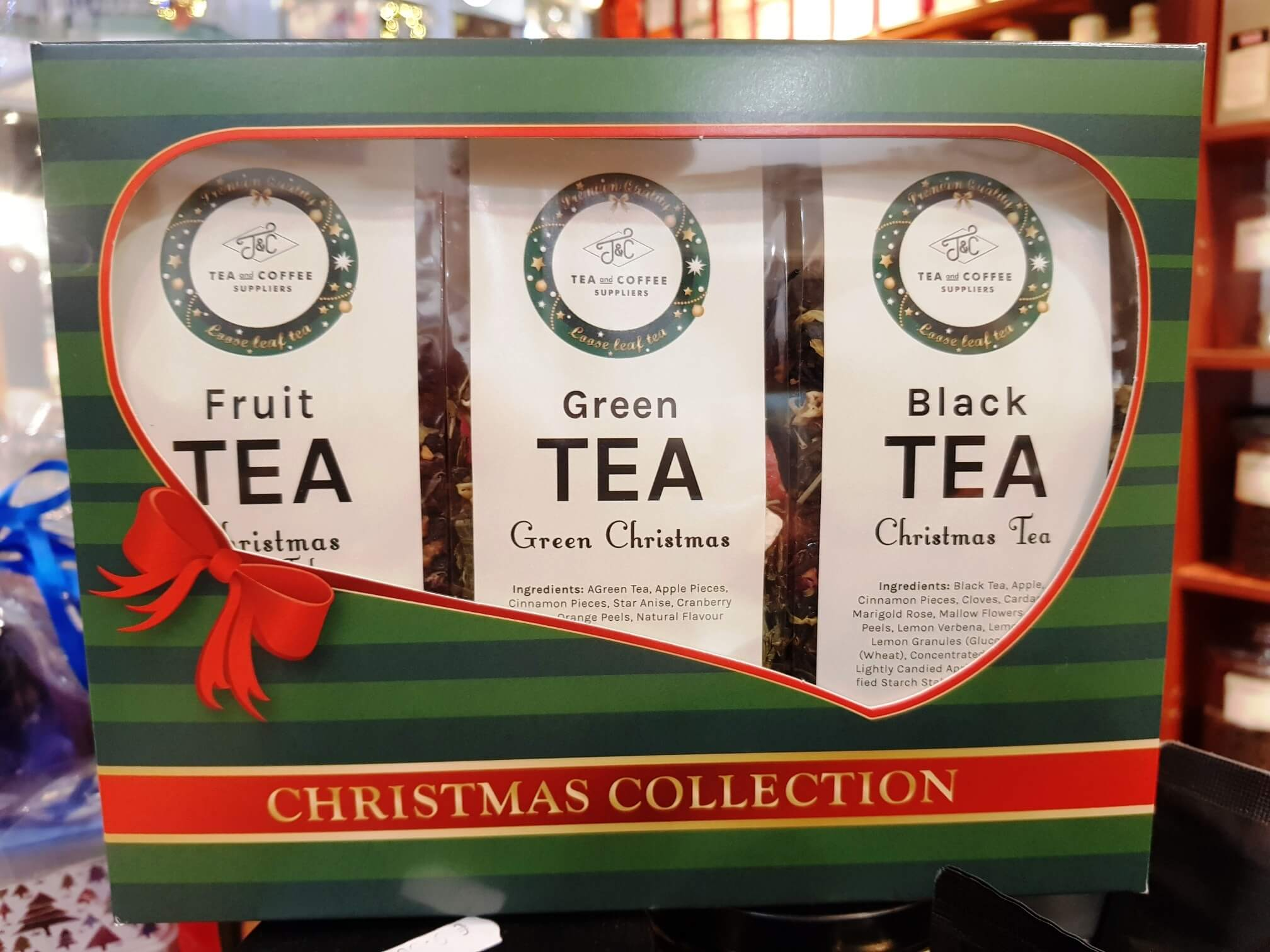 T&C CHRISTMAS TEA COLLECTION SET 3x100g