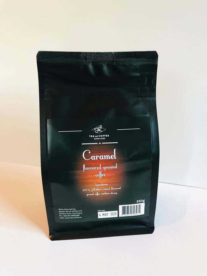 T&C CHOCOLATE flavoured ready ground coffee 250 g