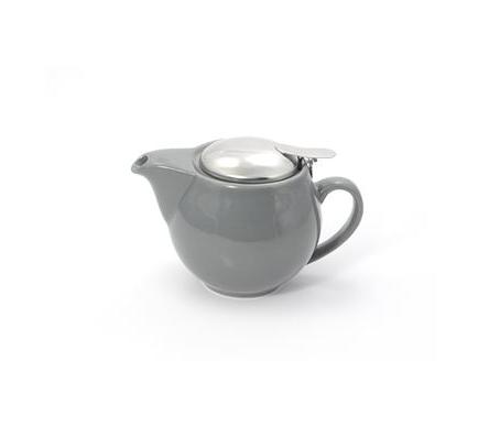 Porcelain Teapot SAARA - Grey 0.35 l