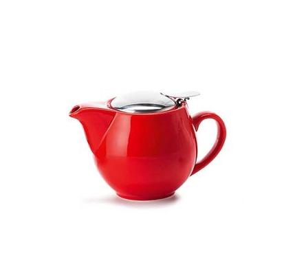Porcelain Teapot SAARA - Red 0.35 l