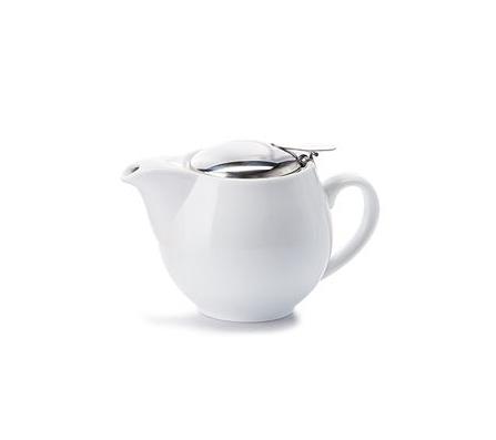 Porcelain Teapot SAARA - White 0.35 l