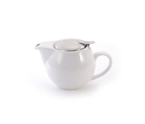 Porcelain Teapot SAARA - White 0.5 l