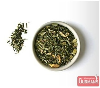GINSENG AND LIME FLAVOURED GREEN TEA