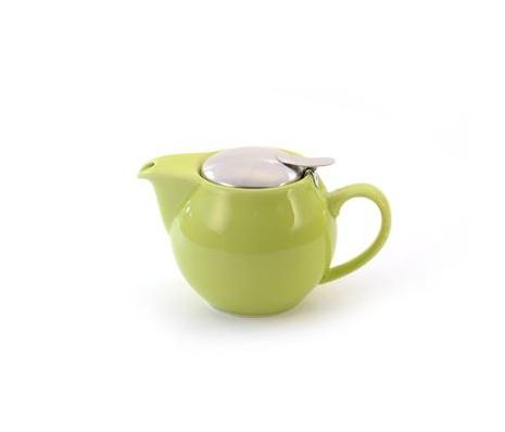 Porcelain Teapot SAARA - Green 0.5 l