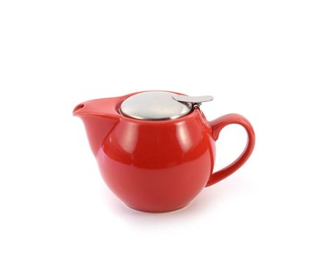 Porcelain Teapot SAARA - Red 0.5 l