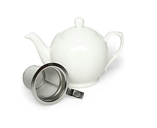 Porcelain Teapot RIVIERA - White 0.75 l