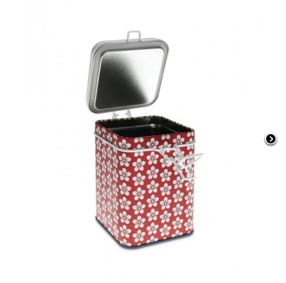 Tin SCANDIC 150 g - Square Red