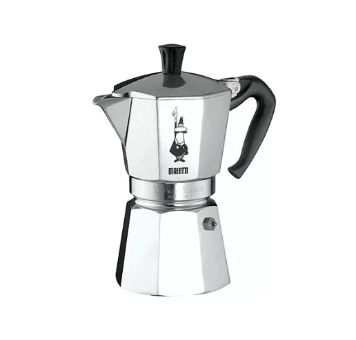 Bialetti Moka Express Coffee Maker - 6 Cups