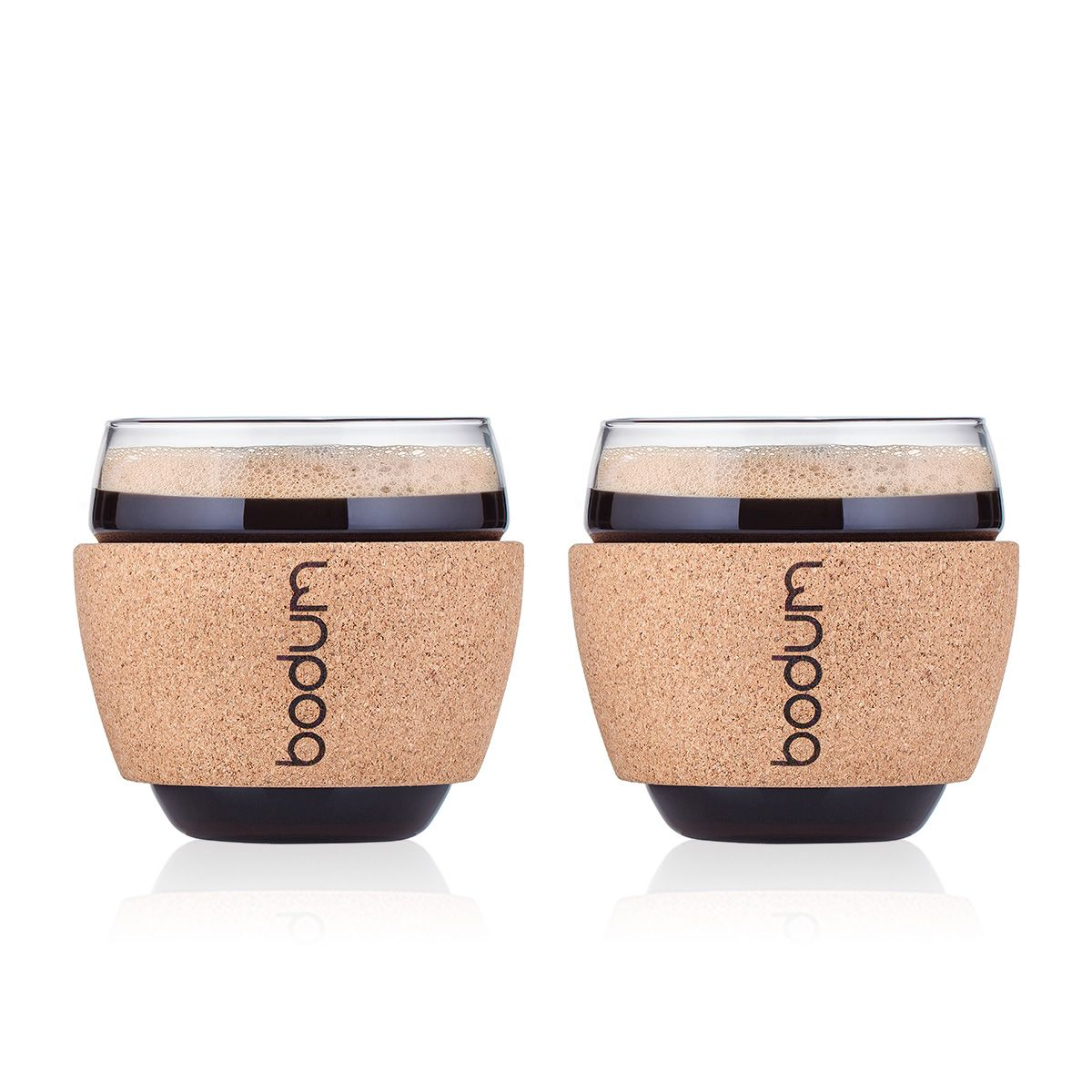 BODUM PAVINA Glasses with Cork Band