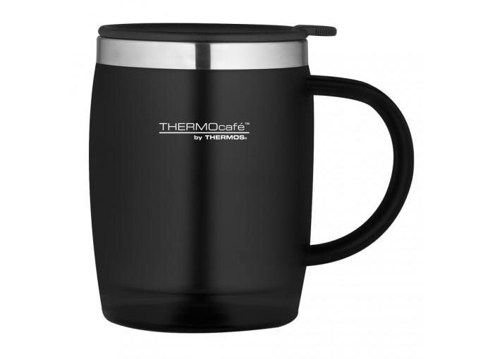 ​THERMOS THERMOCAFE DESK/TRAVEL MUG 450 ml - BLACK