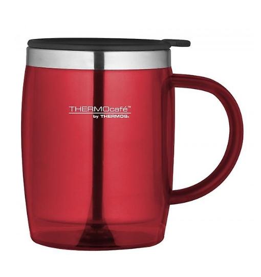 THERMOS THERMOCAFE DESK/TRAVEL MUG 450 ml - RED