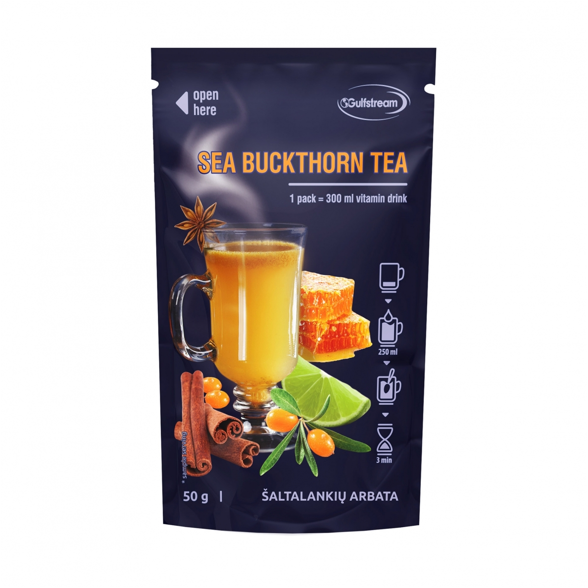 Gulfstream Sea Buckthorn Tea