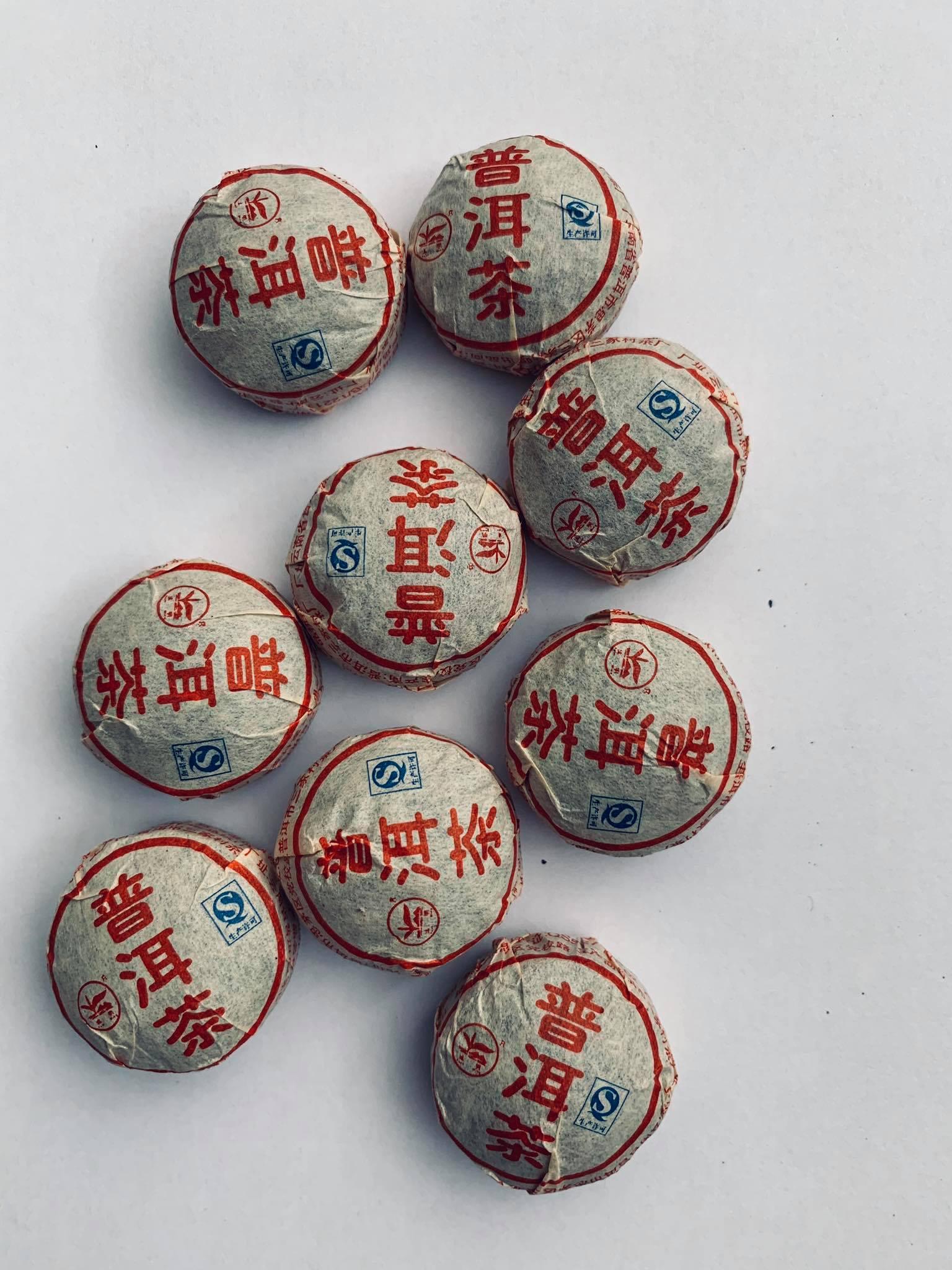Pu Erh Mini Tua Cha Pressed Tea