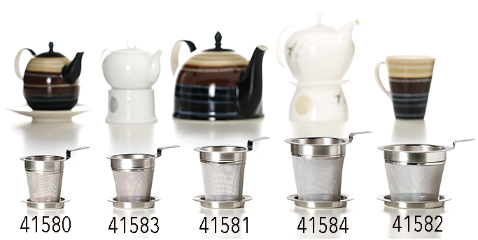 Cha Cult Stainless Steel Tea Strainer - Ø 8 cm