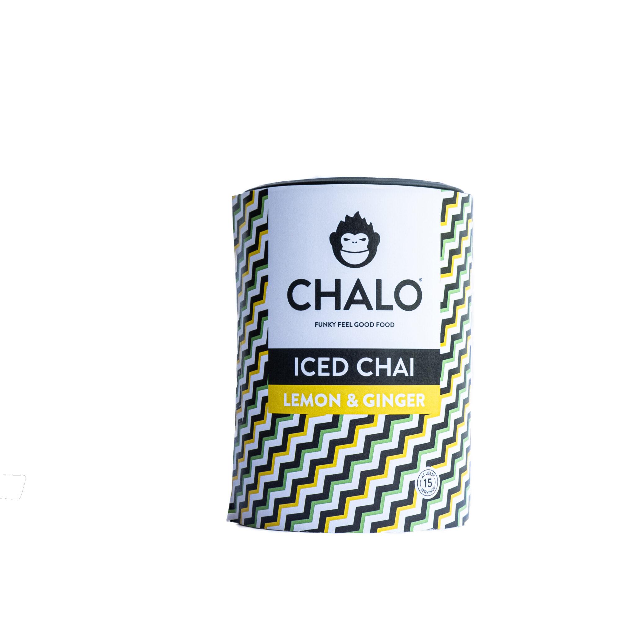 CHALO Lemon & Ginger Iced Chai